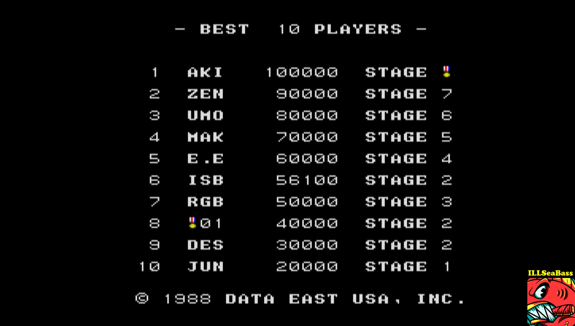 ILLSeaBass: Bloody Wolf / Battle Rangers (Arcade Emulated / M.A.M.E.) 56,100 points on 2017-03-30 01:13:50