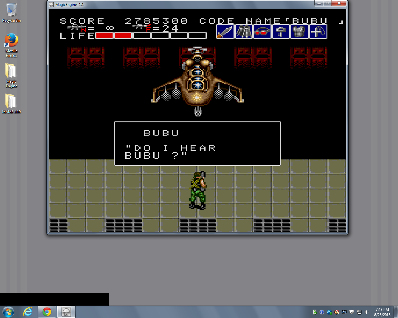 bubufubu: Bloody Wolf (TurboGrafx-16/PC Engine Emulated) 2,785,300 points on 2015-10-22 16:39:33