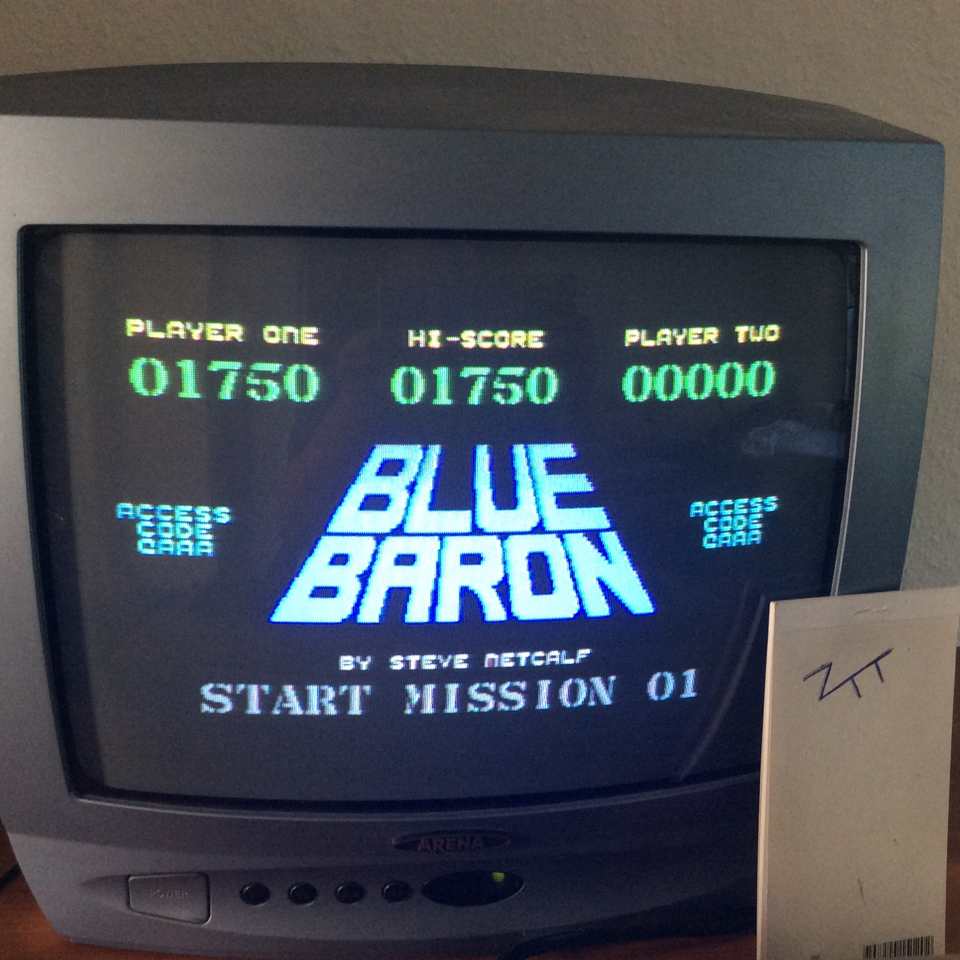Frankie: Blue Baron (Commodore 64) 1,750 points on 2016-06-09 12:24:12