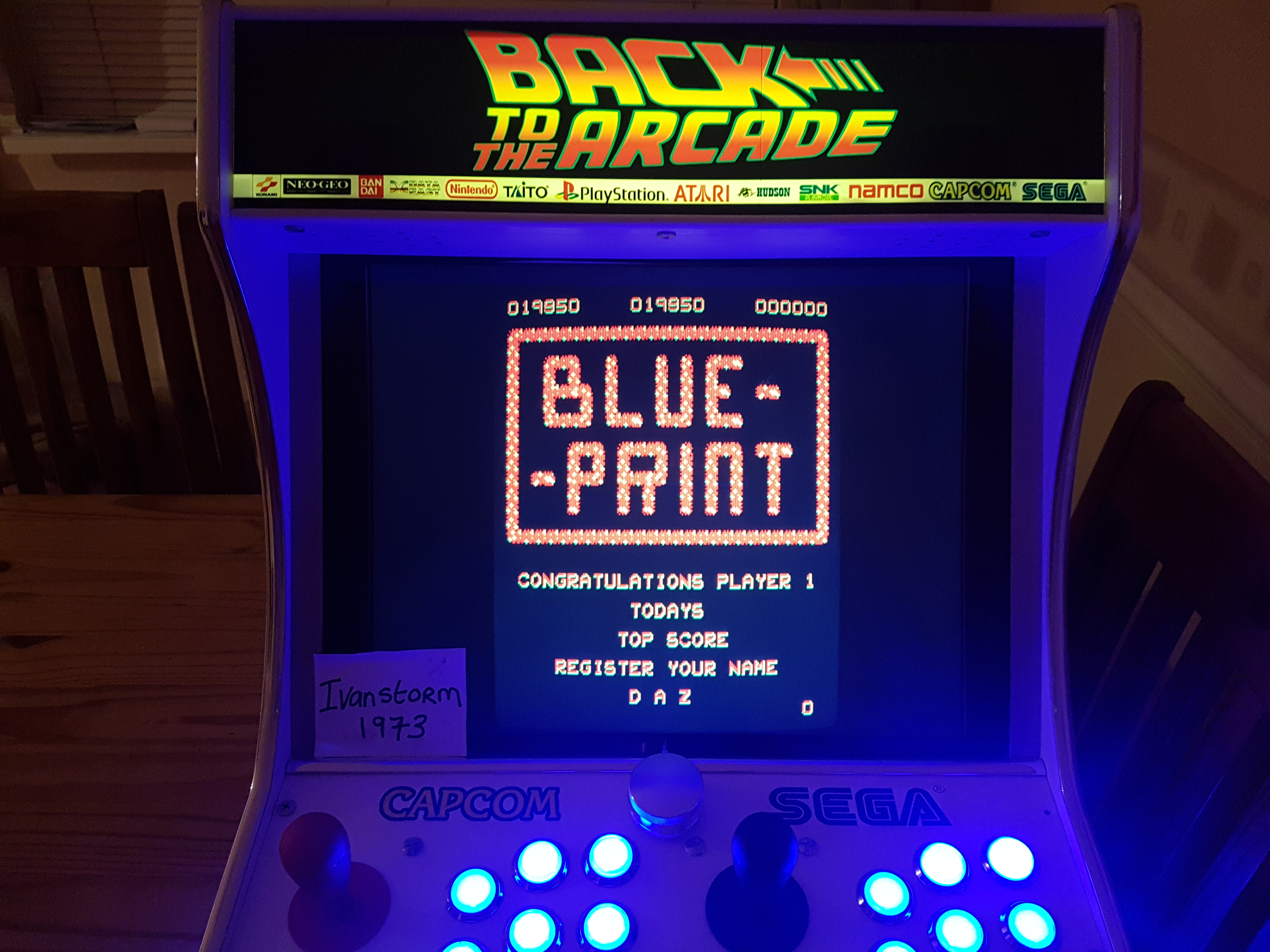 Blue Print 19,850 points
