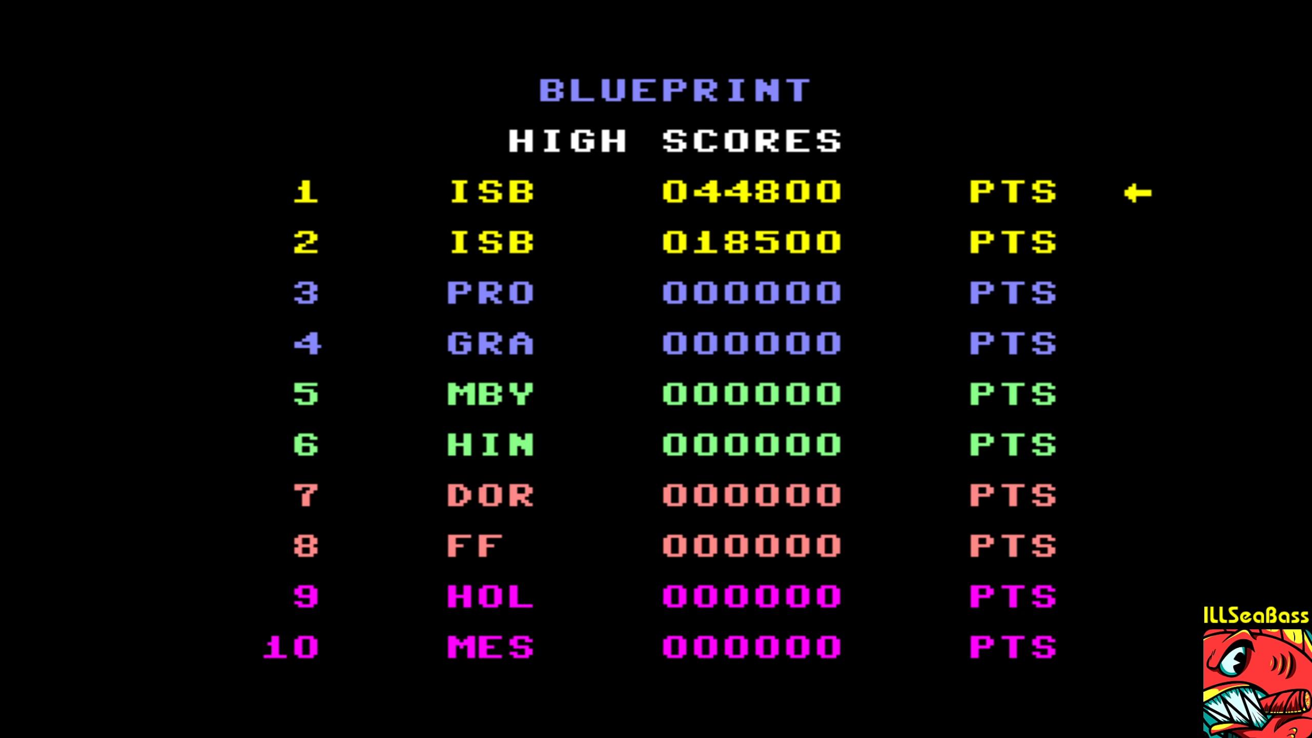 Blue Print 44,800 points
