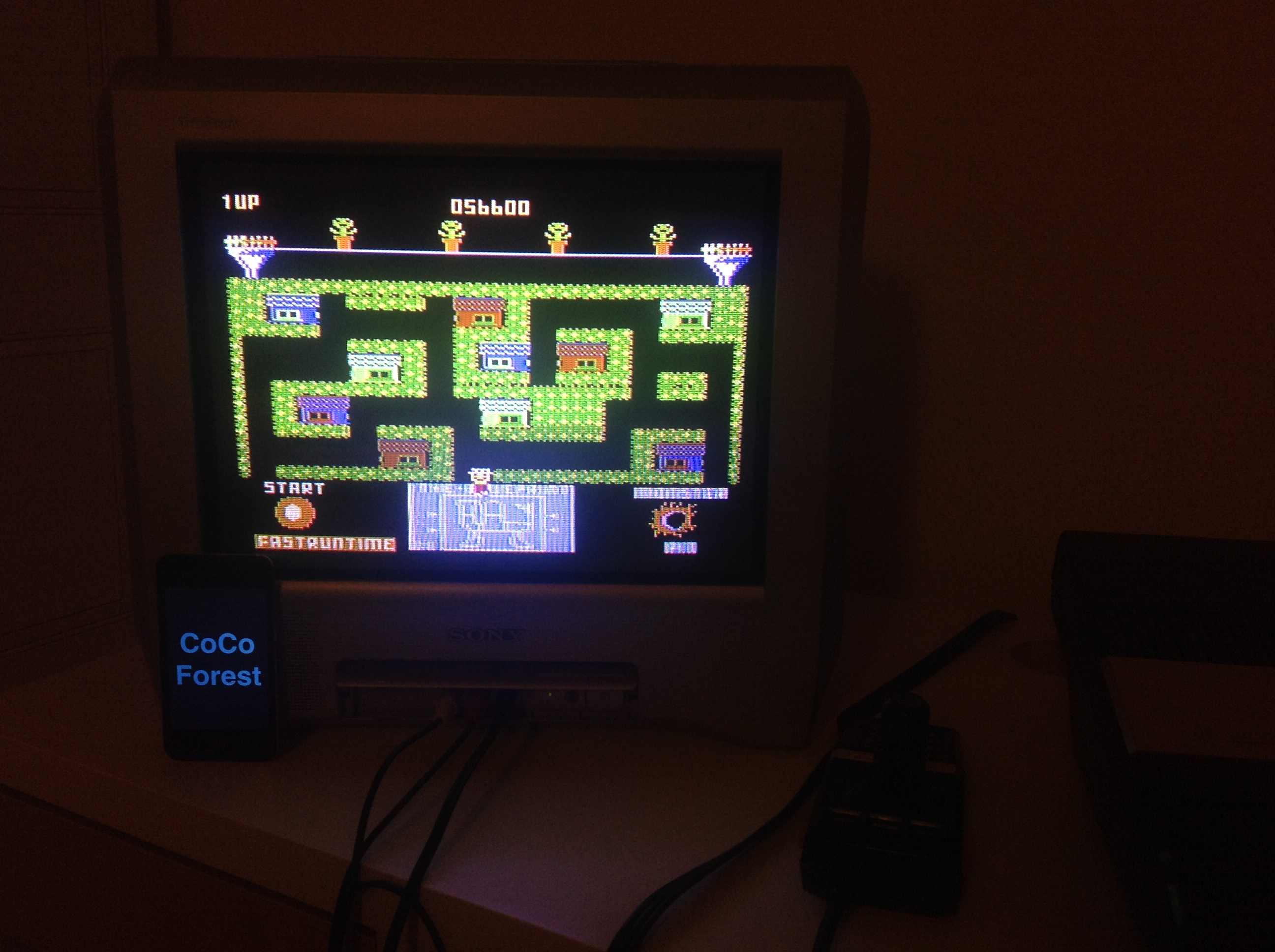 CoCoForest: Blue Print [Level 1] (Atari 5200) 56,600 points on 2015-11-12 10:48:02