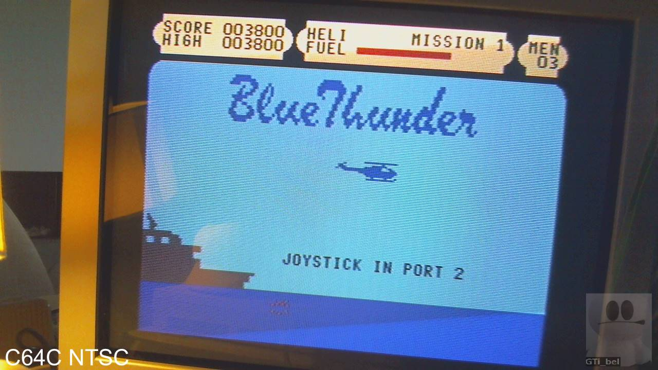 GTibel: Blue Thunder (Commodore 64) 3,800 points on 2020-01-31 03:06:29
