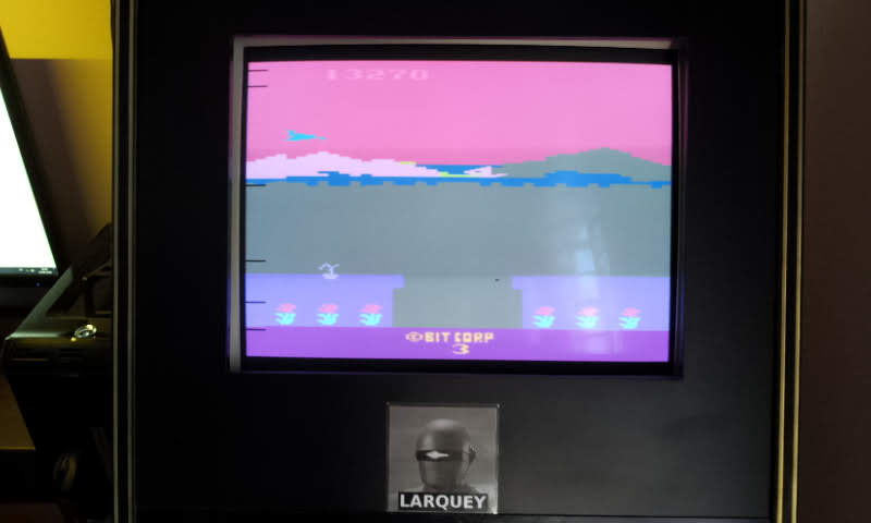 Larquey: Bobby Is Going Home (Atari 2600 Emulated Novice/B Mode) 13,270 points on 2018-06-03 11:50:23