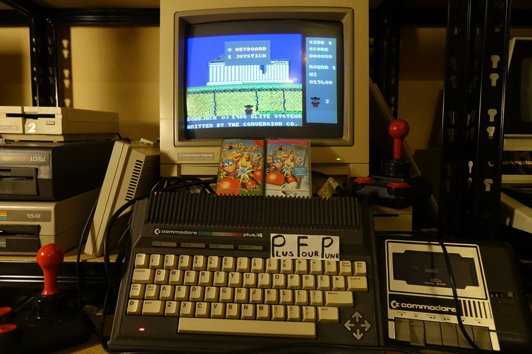 plus4punk: Bomb Jack (Commodore 16/Plus4) 15,400 points on 2020-05-08 15:35:41