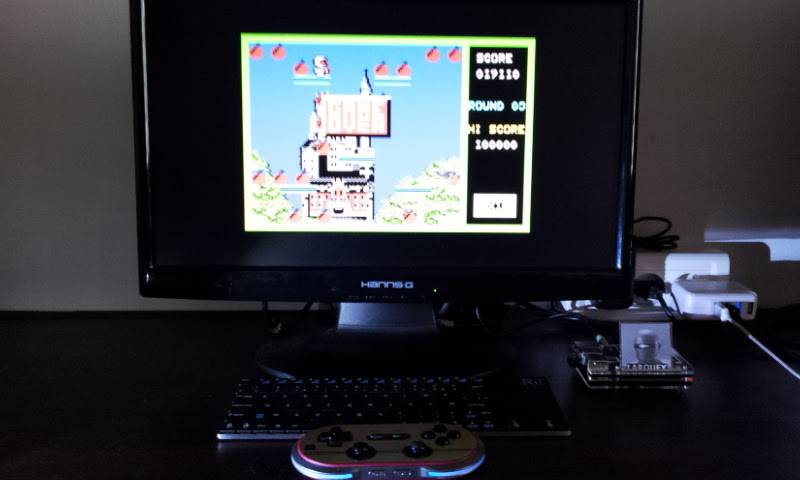 Larquey: Bomb Jack (Commodore 64 Emulated) 19,110 points on 2017-08-26 08:00:09