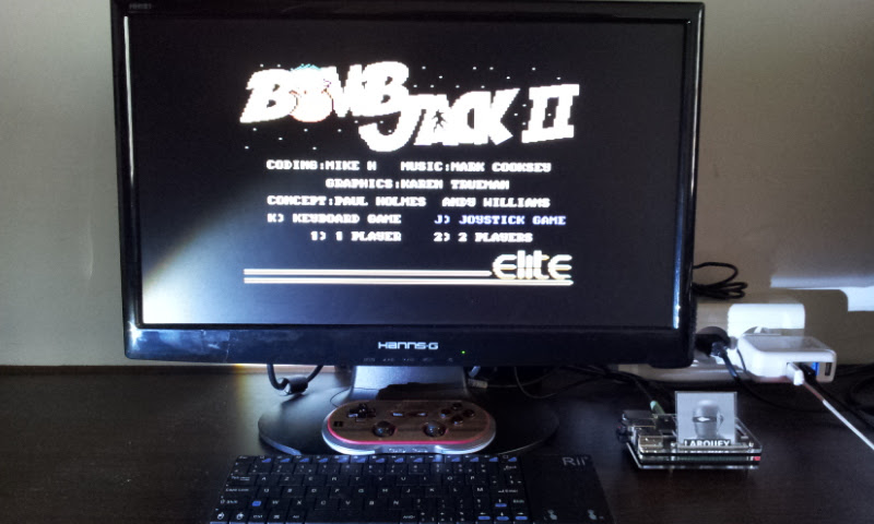 Larquey: Bomb Jack II (Commodore 64 Emulated) 12,300 points on 2017-08-26 08:02:39