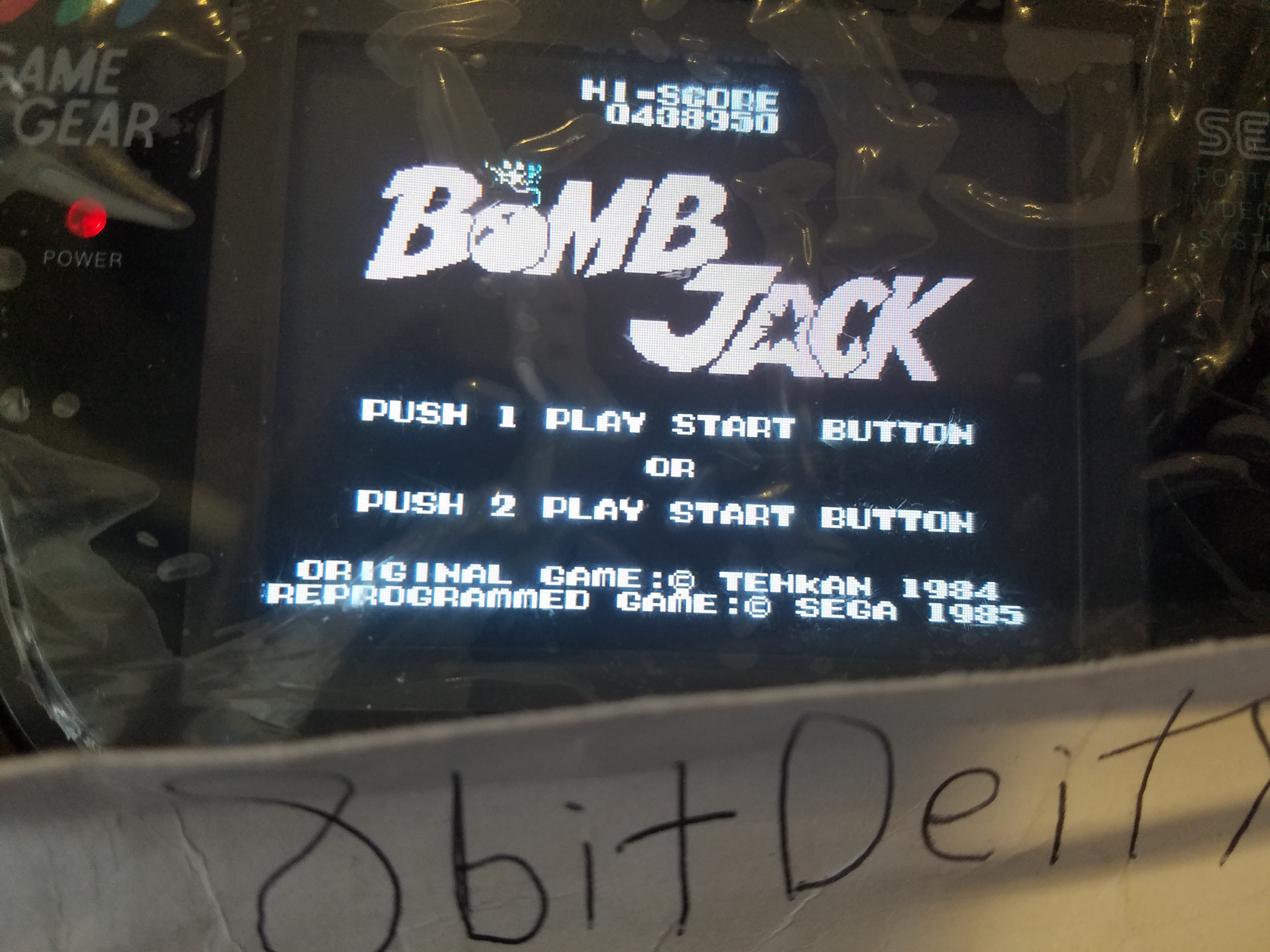 8bitDeity: Bomb Jack (Sega SG-1000) 438,950 points on 2019-02-08 13:40:36