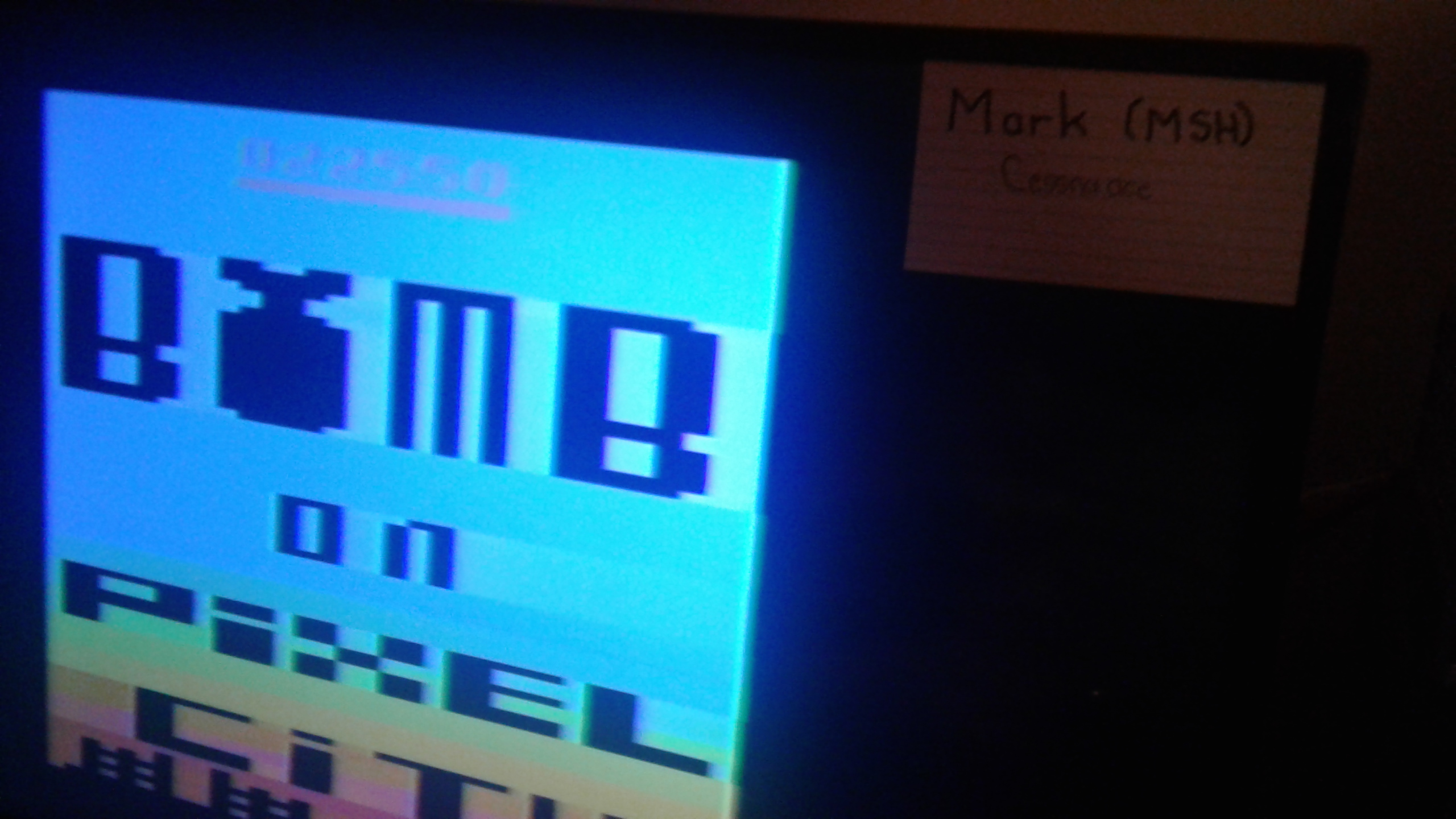 Mark: Bomb on Pixel City (Atari 2600 Novice/B) 22,550 points on 2019-06-06 03:52:01