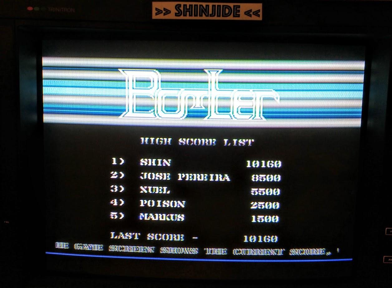 SHiNjide: Bomber (Atari 400/800/XL/XE) 10,160 points on 2015-12-10 03:34:15