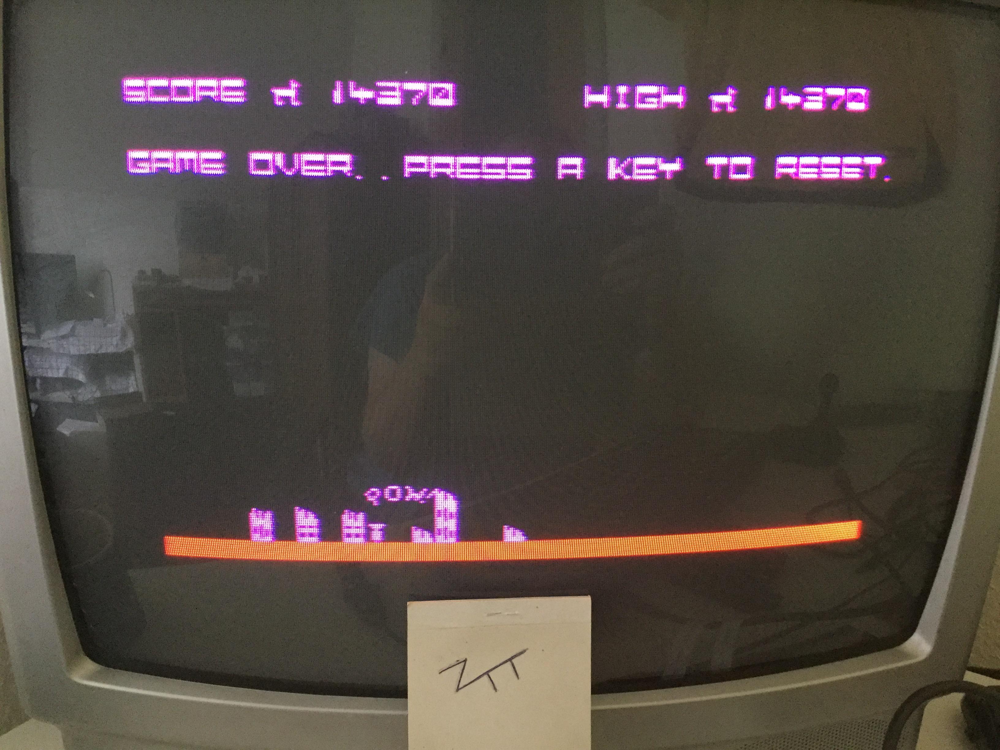Frankie: Bomber / City Bomber [Llamasoft] [Skill Level: 1 - Wave: 1] (ZX Spectrum) 14,370 points on 2018-09-09 06:42:59