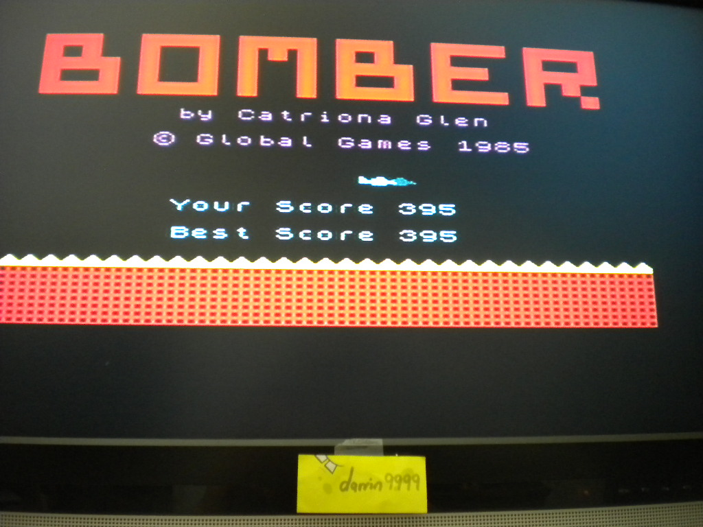 Bomber [Global Games] 395 points