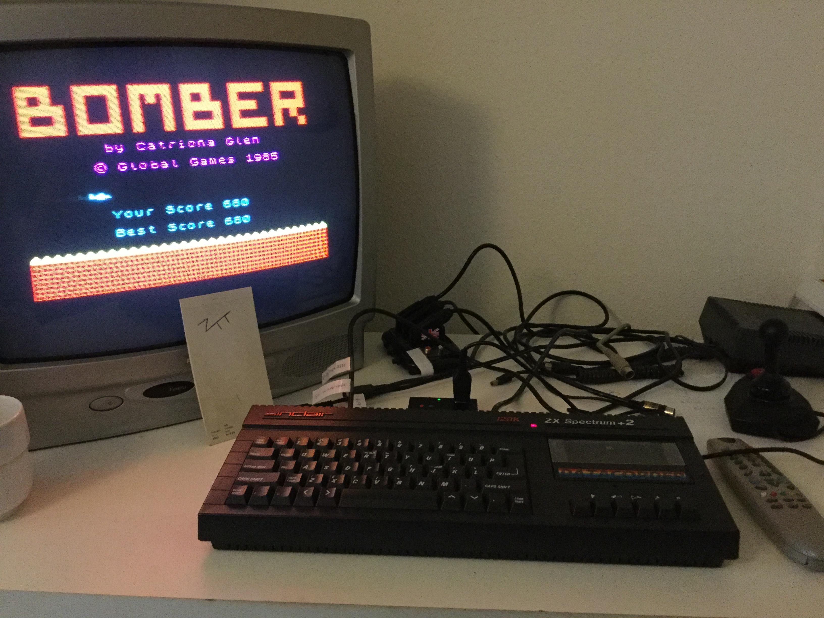 Frankie: Bomber [Global Games] (ZX Spectrum) 680 points on 2018-09-14 11:28:06
