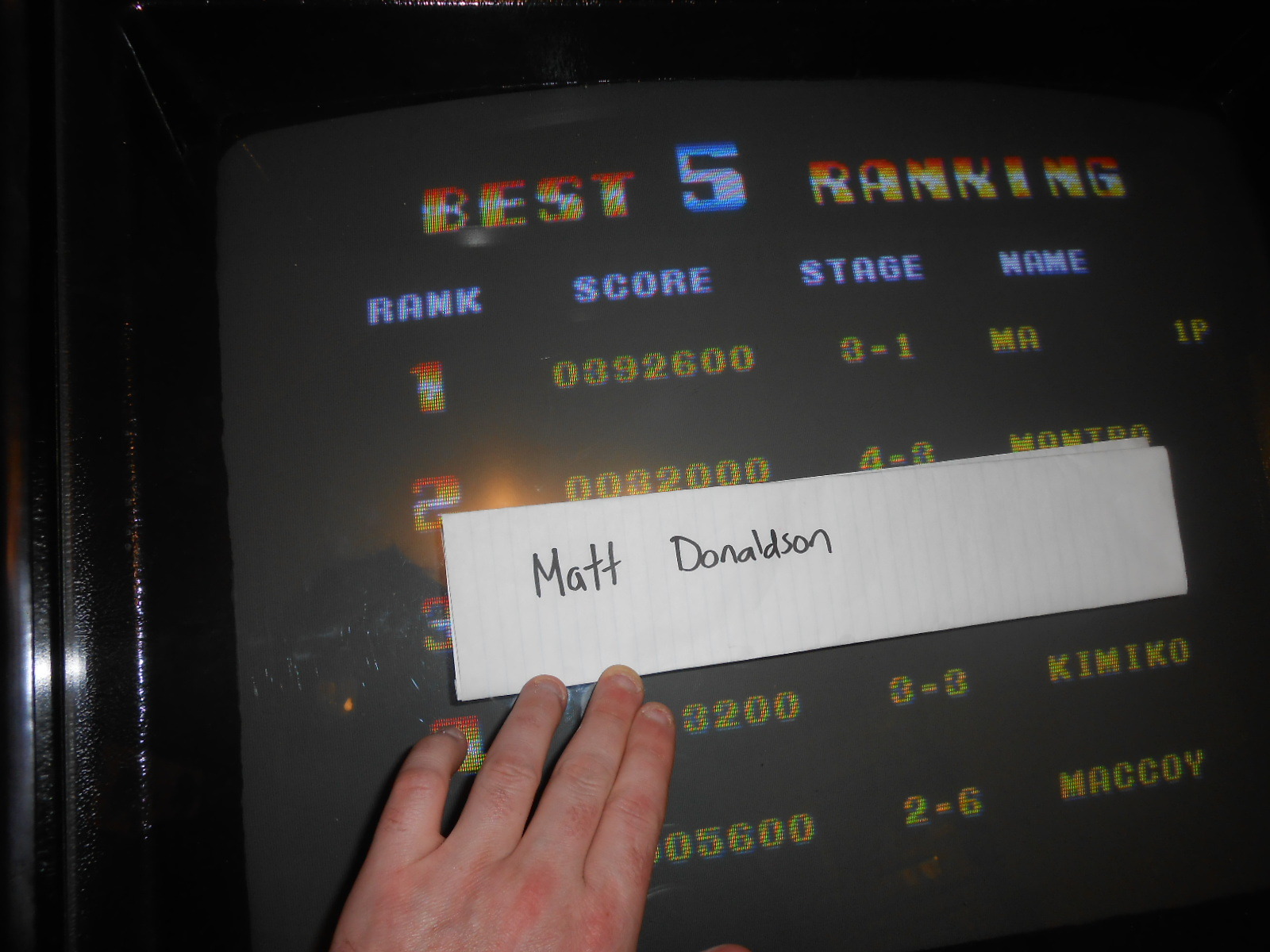 MattDonaldson: Bomber Man World [bbmanw] (Arcade Emulated / M.A.M.E.) 392,600 points on 2015-08-19 23:19:36