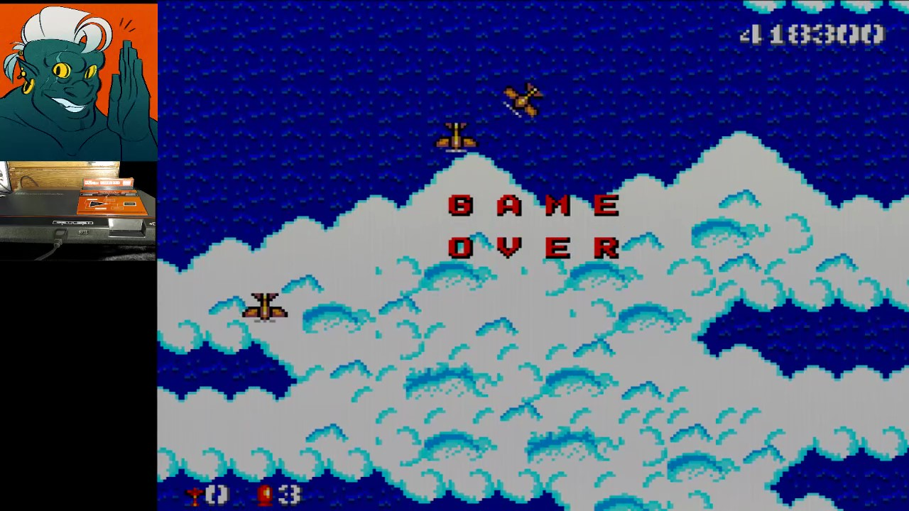 AwesomeOgre: Bomber Raid (Sega Master System) 418,300 points on 2019-04-23 18:21:08