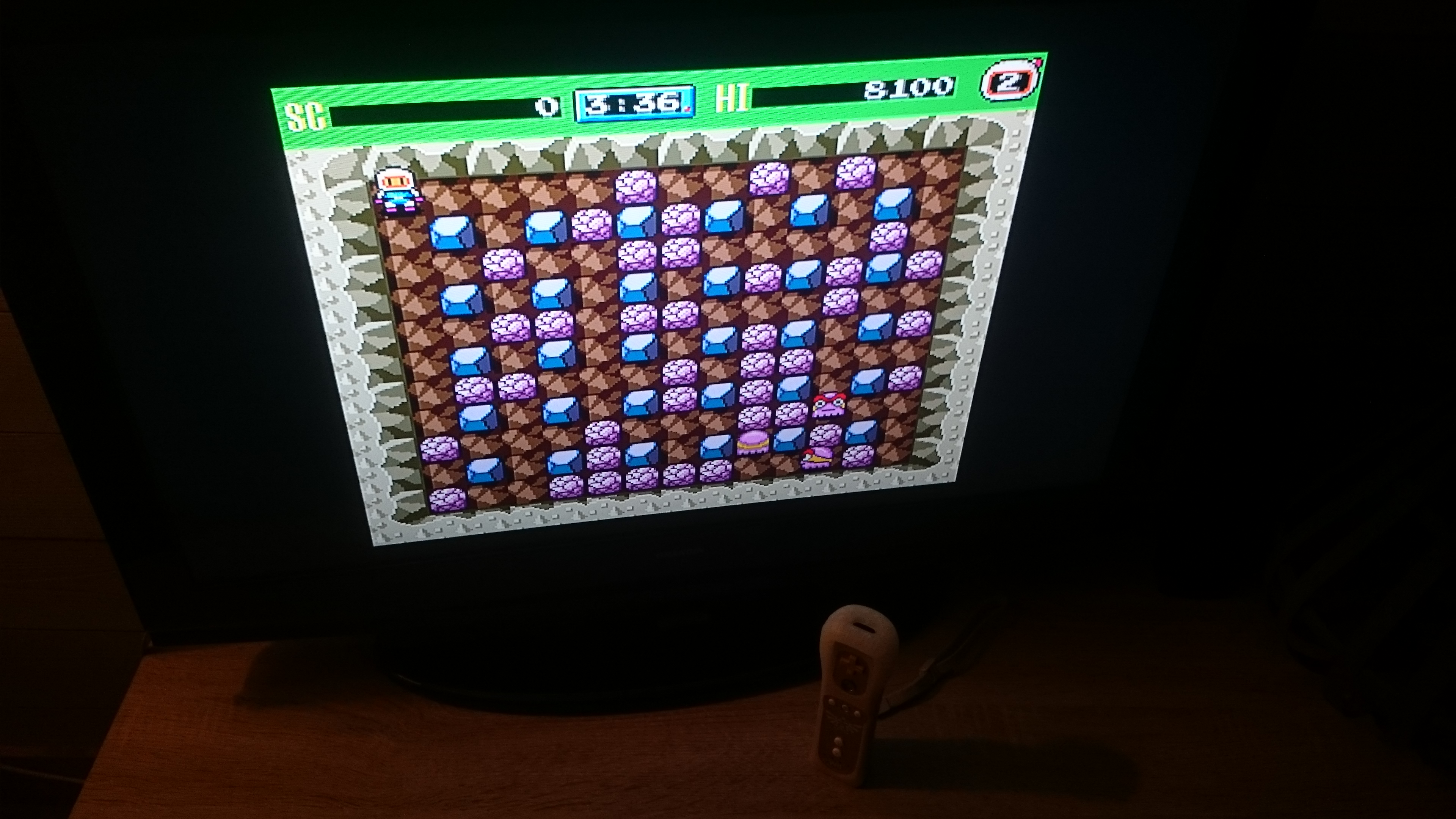 Bomberman 93 [Normal] 8,100 points