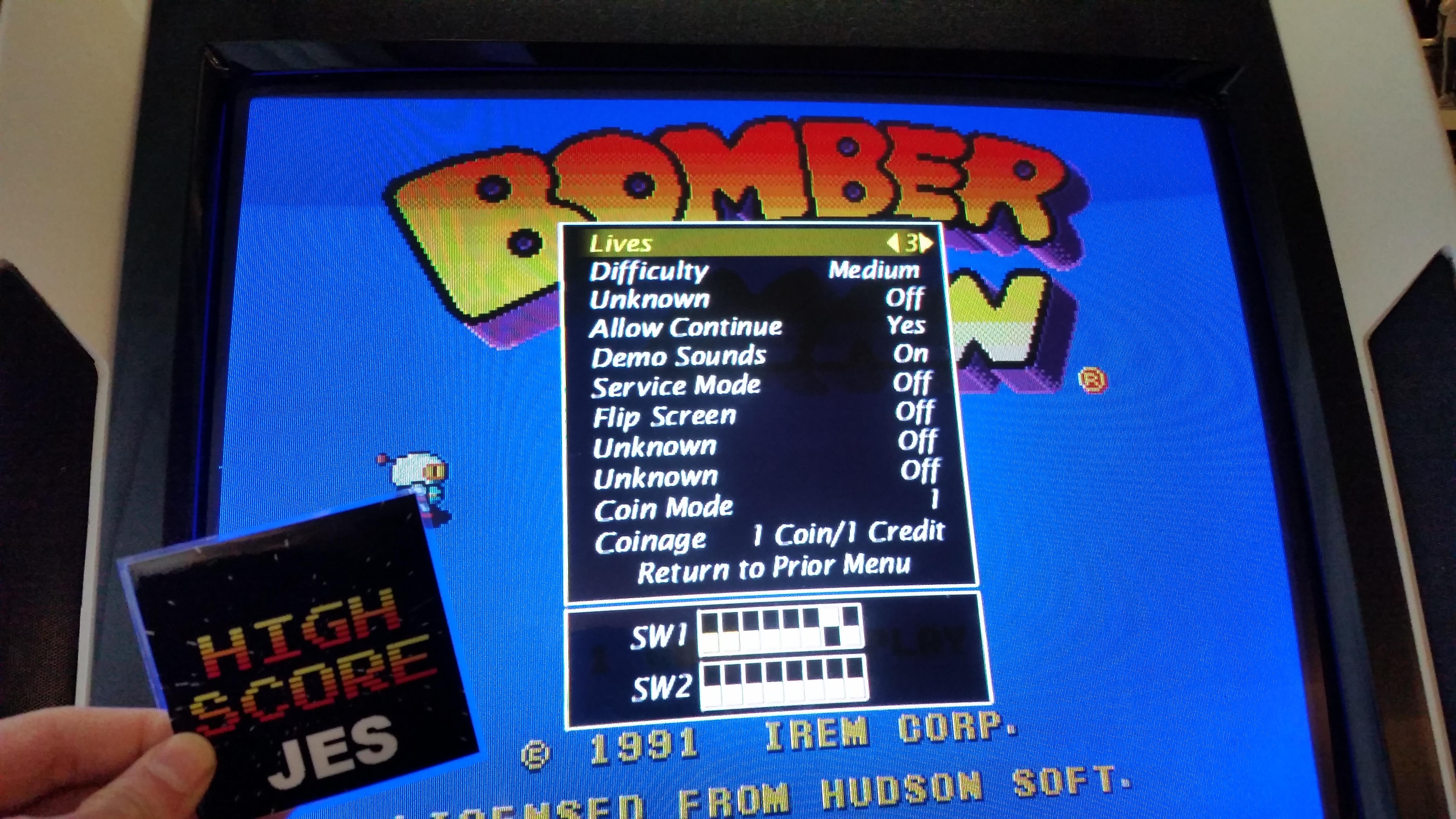 Bomberman / Dynablaster 6,800 points