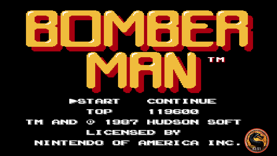omargeddon: Bomberman (NES/Famicom Emulated) 119,600 points on 2019-11-22 13:17:03