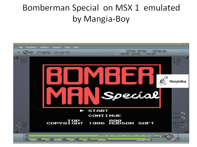 MangiaBoy: Bomberman Special (MSX Emulated) 800 points on 2019-01-13 10:11:39
