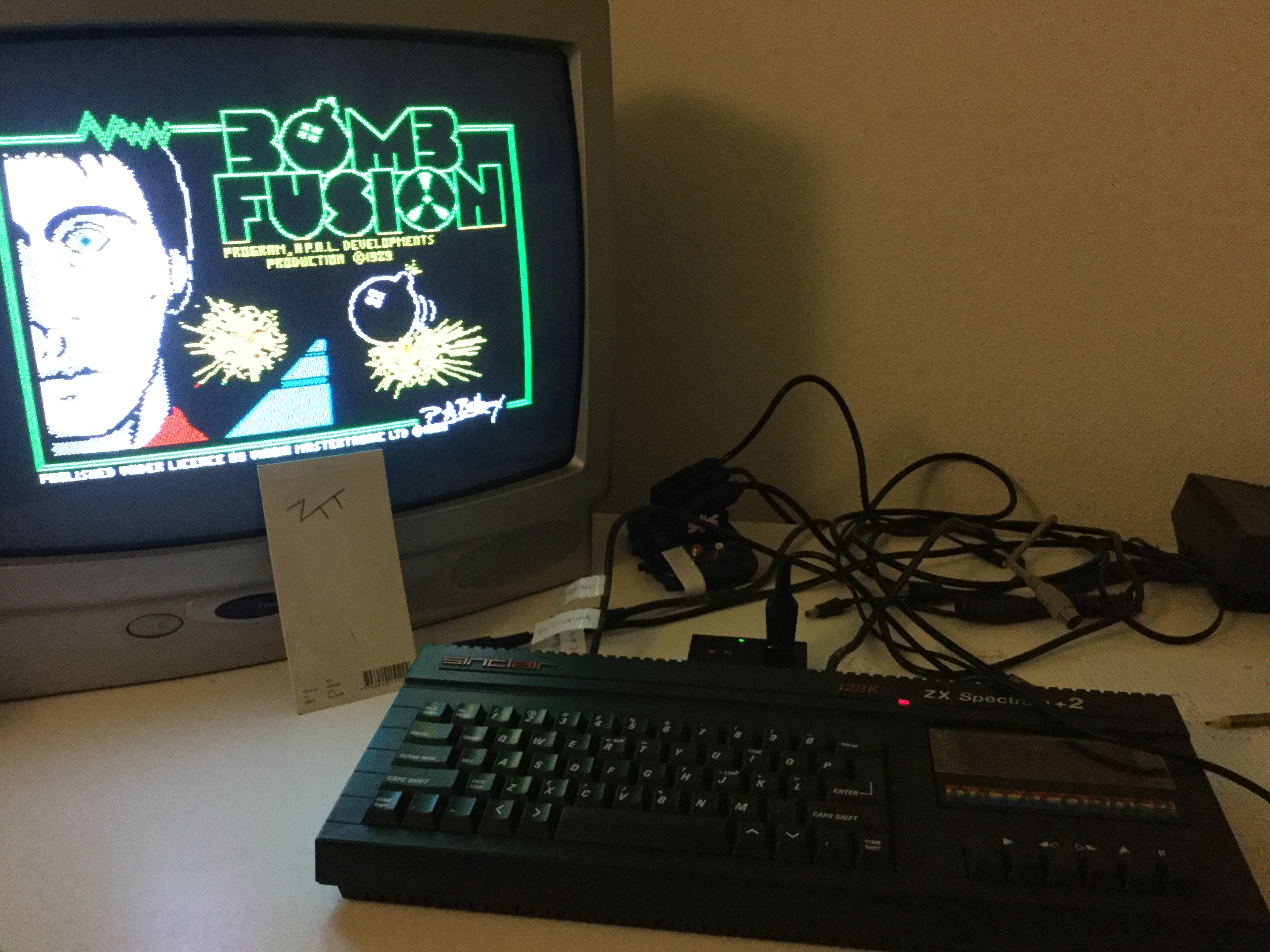 Frankie: Bombfusion (ZX Spectrum) 165,485 points on 2018-08-13 12:22:22
