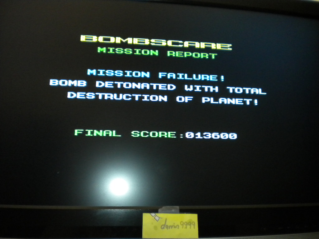 Bombscare [Firebird Software] 13,600 points