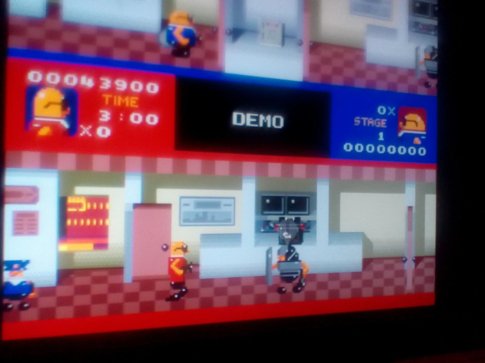 DrJoshDaRealgamer22F: Bonanza Bros. (Sega Genesis / MegaDrive Emulated) 43,900 points on 2018-08-18 04:23:19