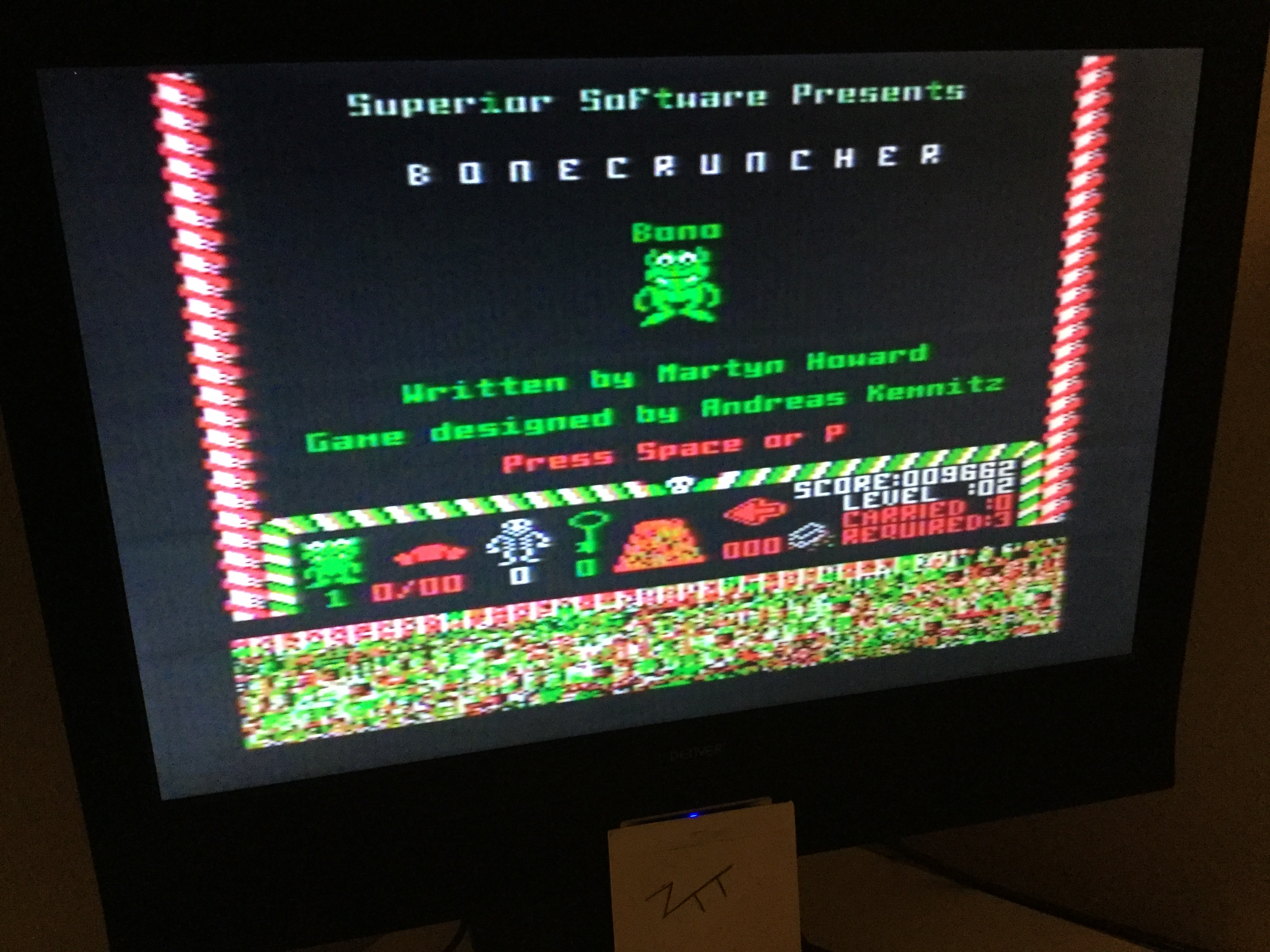 Frankie: Bonecruncher (Acorn Electron) 9,662 points on 2020-05-01 03:50:52