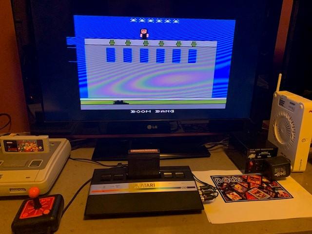 nads: Boom Bang (Atari 2600) 1,000,000 points on 2020-12-29 14:42:23