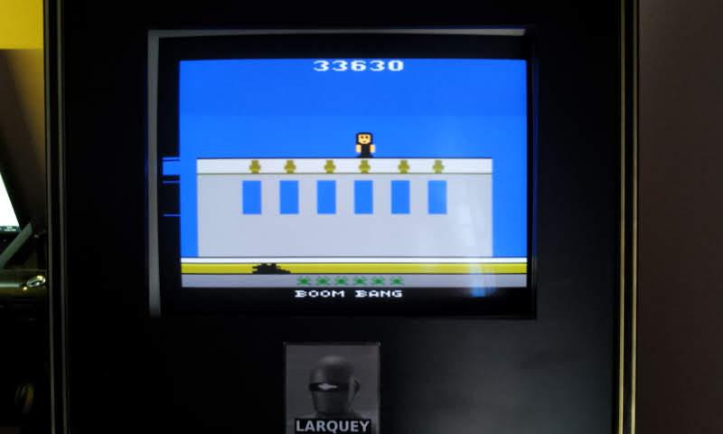 Larquey: Boom Bang (Atari 2600 Emulated) 33,630 points on 2018-06-03 11:52:26
