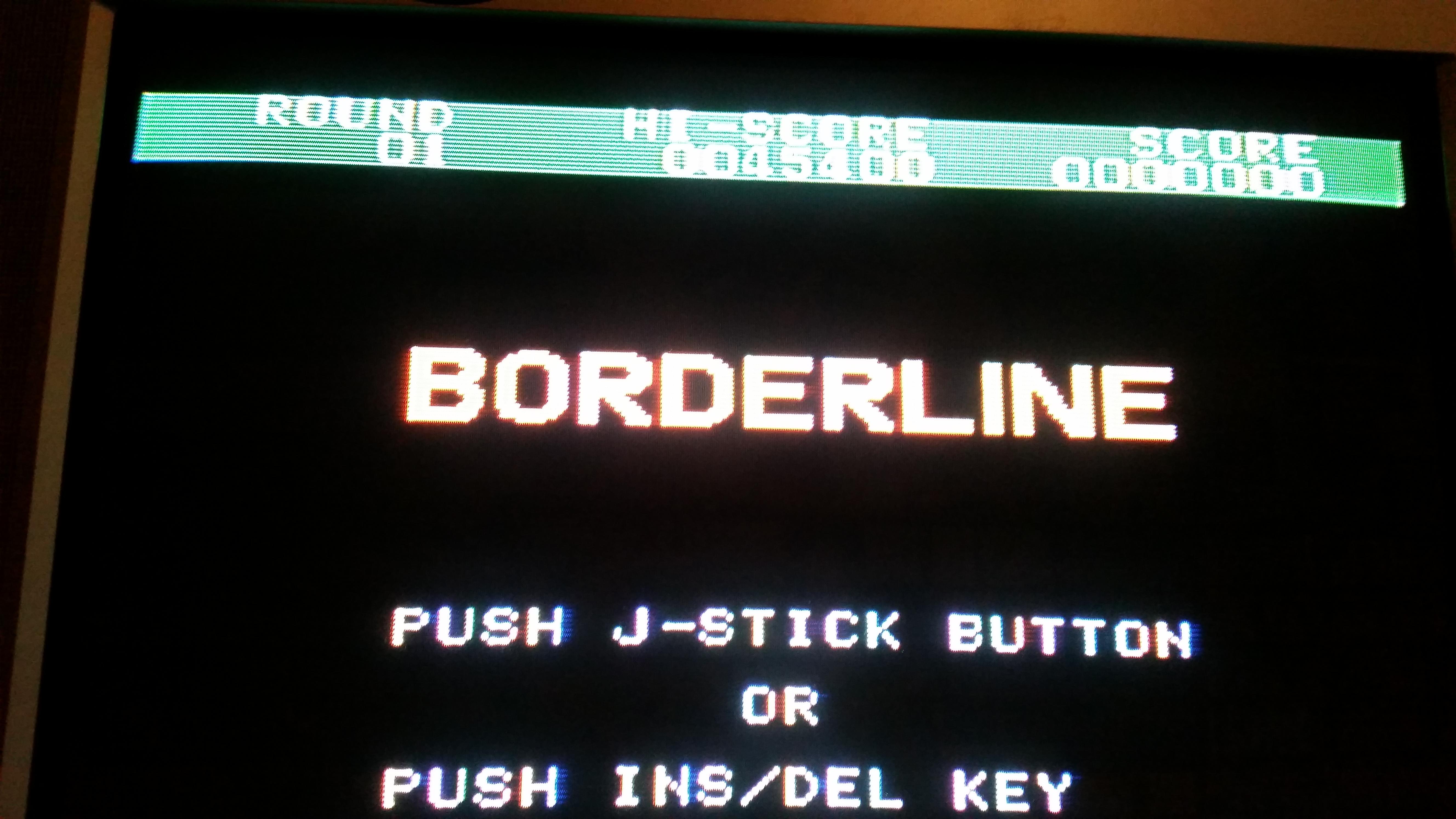 RedMage: Borderline (Sega SG-1000) 45,400 points on 2017-08-31 10:38:42