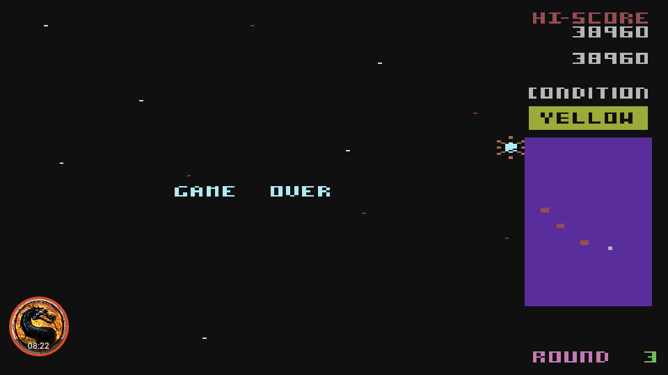 omargeddon: Bosconian (Atari 400/800/XL/XE Emulated) 38,960 points on 2019-02-19 22:32:50
