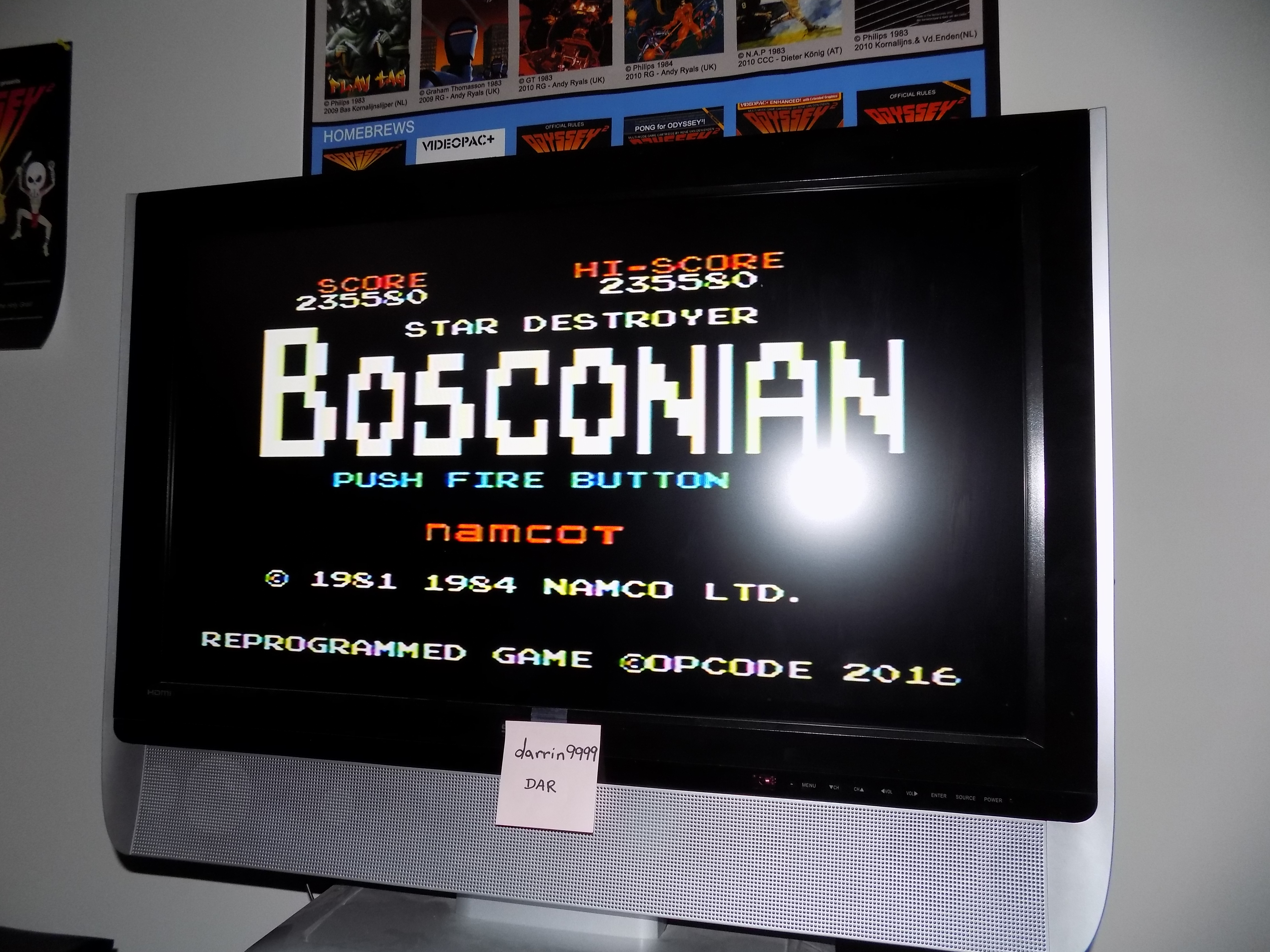 darrin9999: Bosconian (Colecovision) 235,580 points on 2017-02-20 19:37:57
