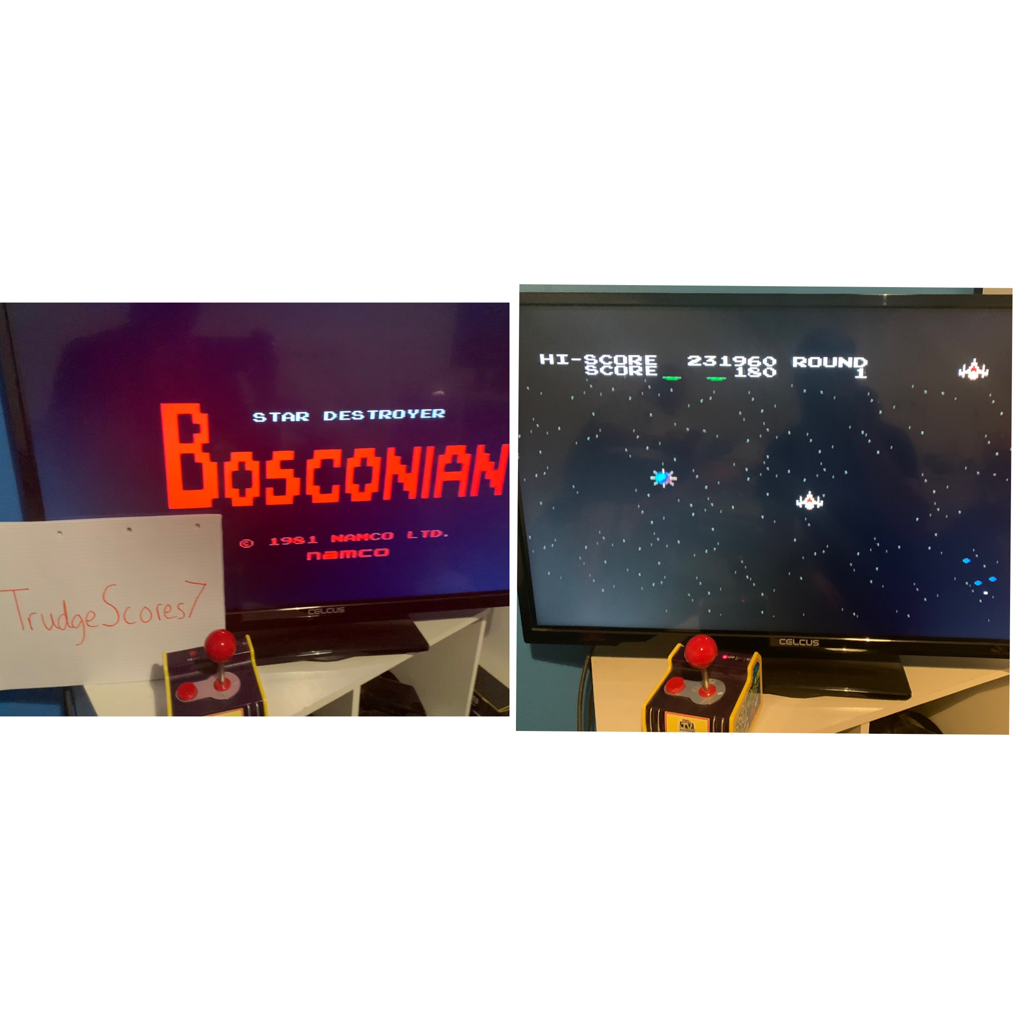 Bosconian 231,960 points
