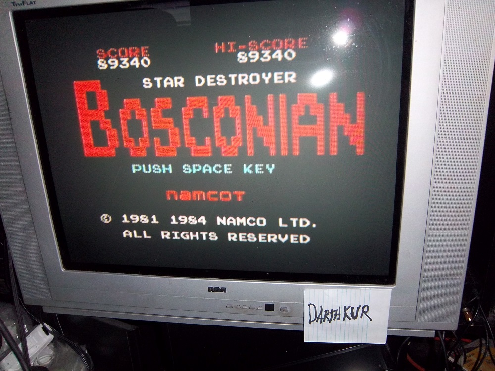 Bosconian 89,340 points
