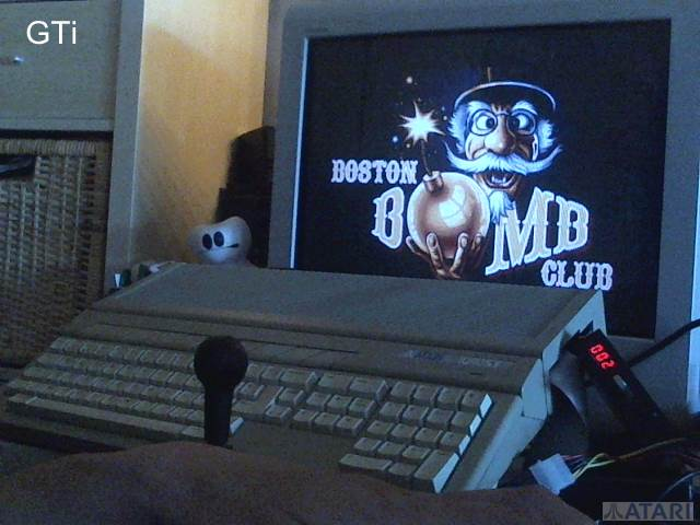 GTibel: Boston Bomb Club [Start Level 1] (Atari ST) 3,082 points on 2017-07-10 01:44:42