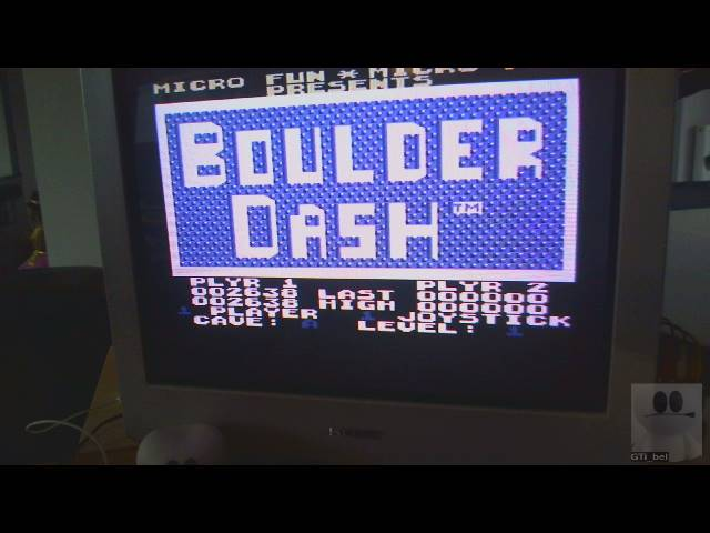 GTibel: Boulder Dash (Commodore 64) 2,638 points on 2019-03-01 09:01:52