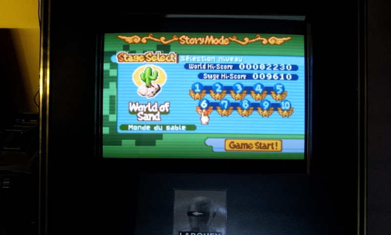 Larquey: Boulder Dash EX [EX][Story][World of Sand][Stage 6] (GBA Emulated) 9,610 points on 2018-02-10 13:45:26