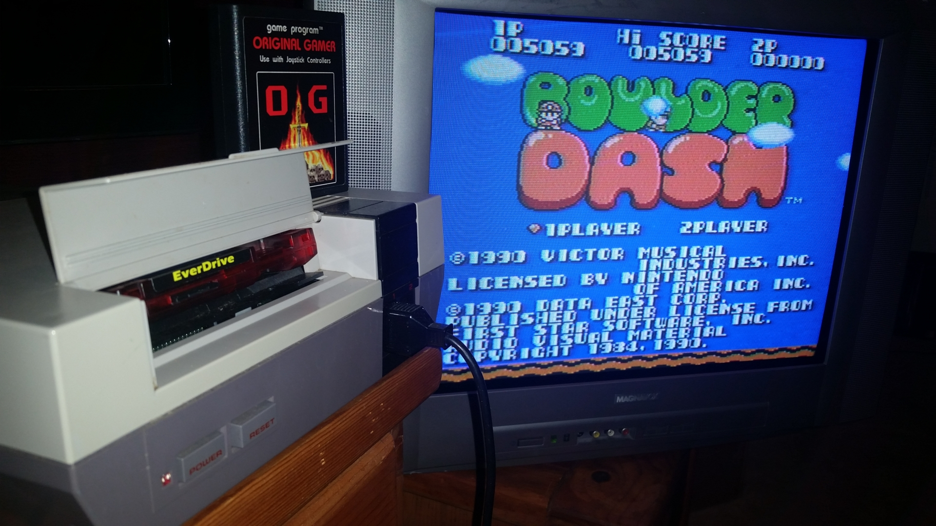 OriginalGamer: Boulder Dash (NES/Famicom) 5,059 points on 2016-09-19 01:06:20