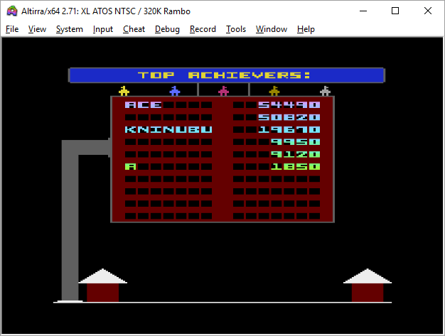 Dumple: Bounty Bob Strikes Back (Atari 5200 Emulated) 54,490 points on 2016-06-25 18:58:42