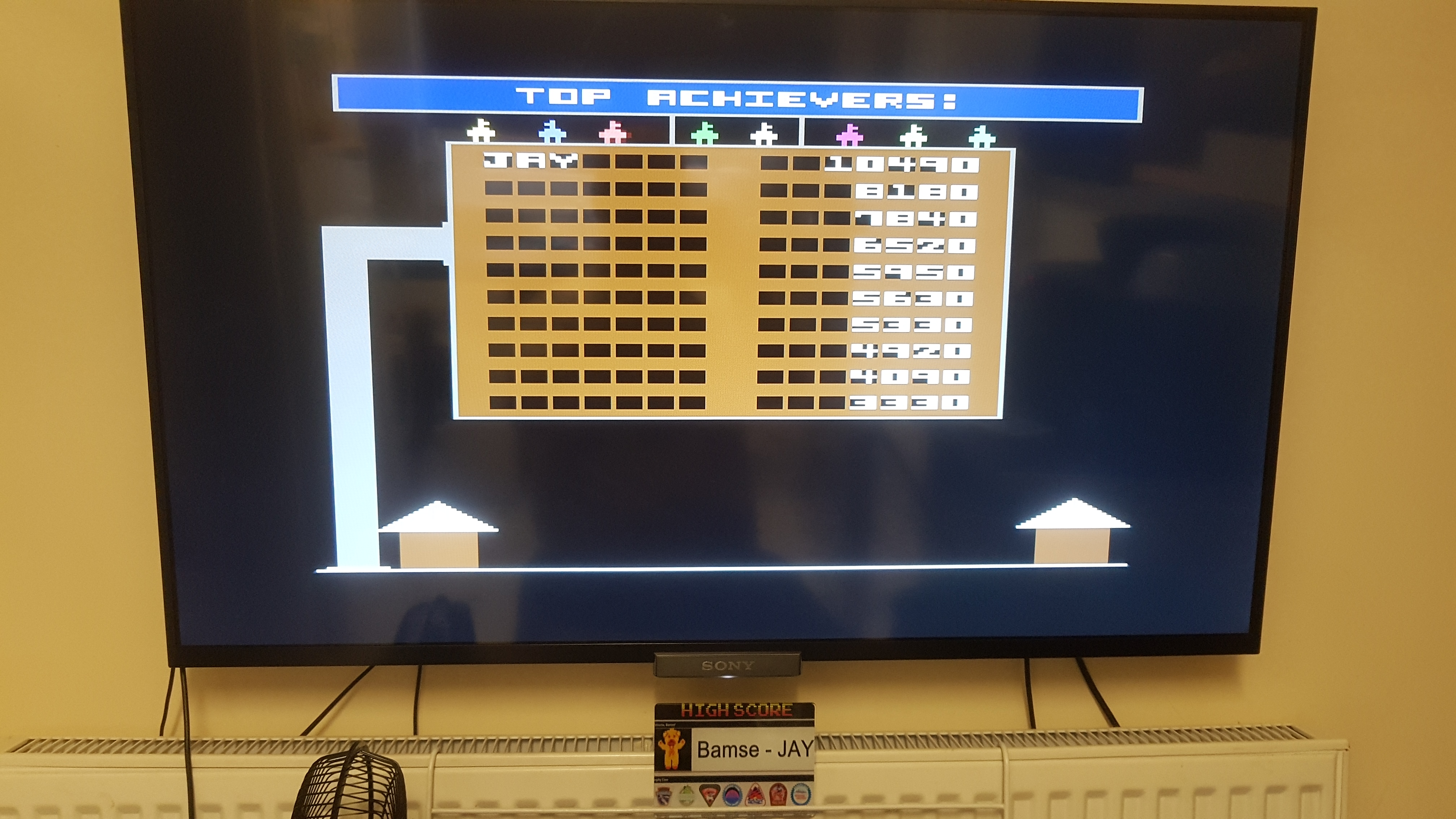 Bamse: Bounty Bob Strikes Back! (Commodore 64 Emulated) 10,490 points on 2020-03-05 09:49:29