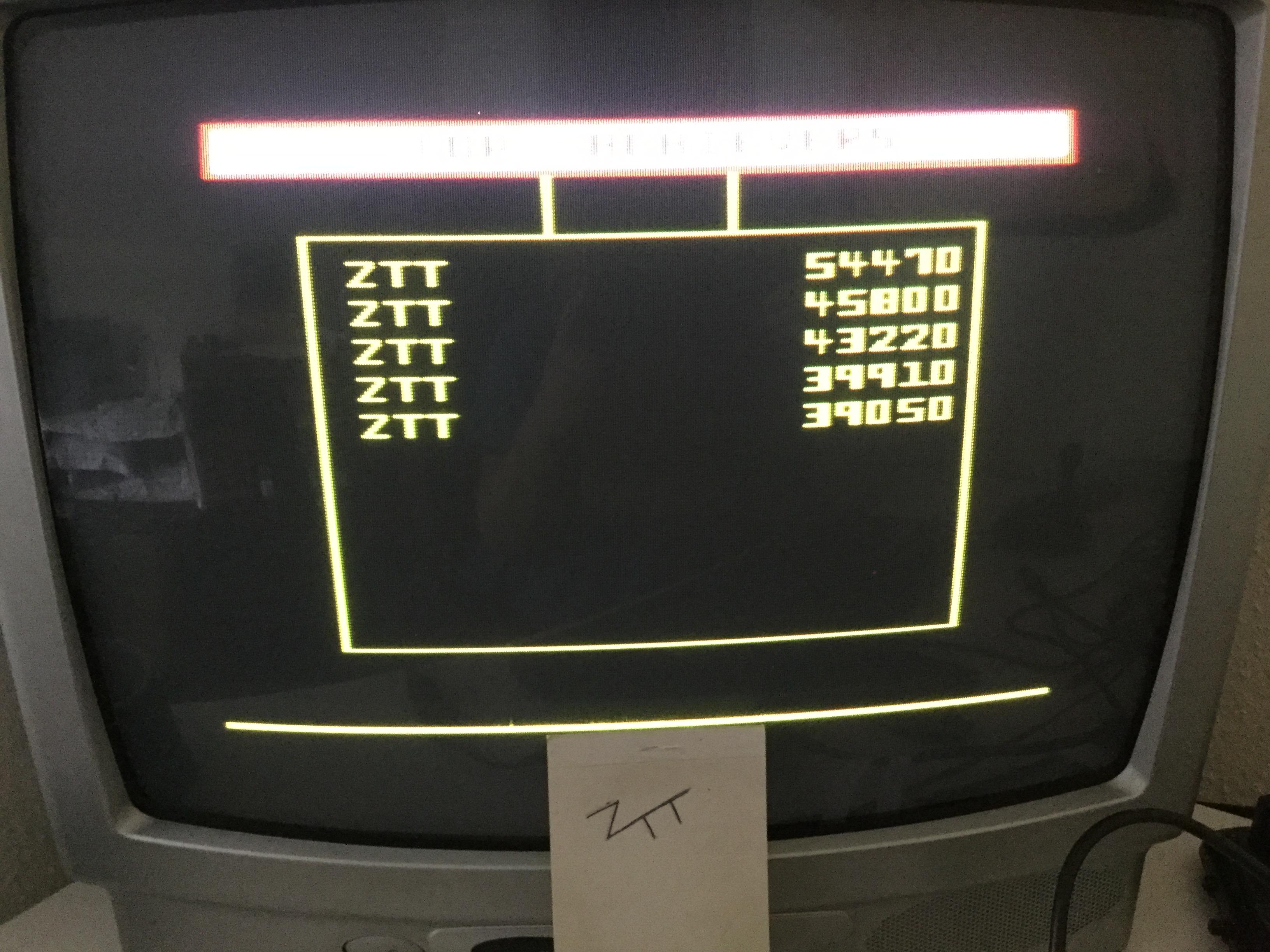 Frankie: Bounty Bob Strikes Back (ZX Spectrum) 54,470 points on 2018-09-08 07:37:48