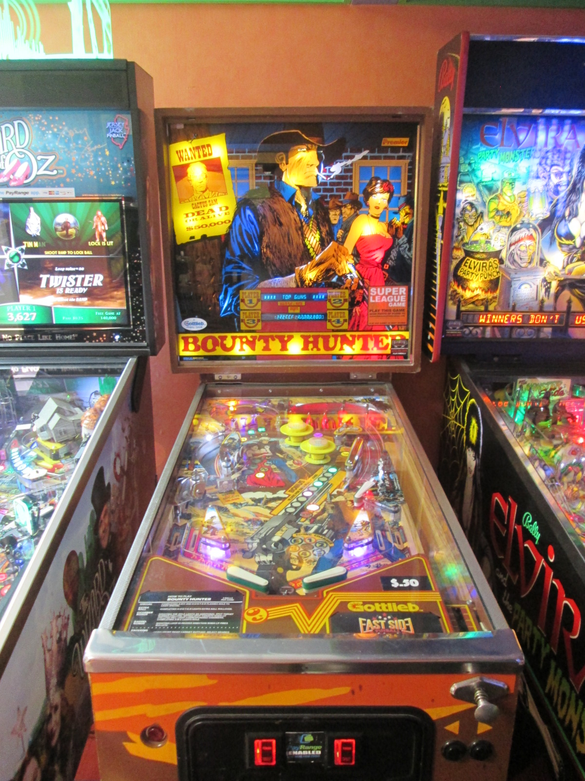 ed1475: Bounty Hunter (Pinball: 3 Balls) 949,530 points on 2016-09-18 15:15:35