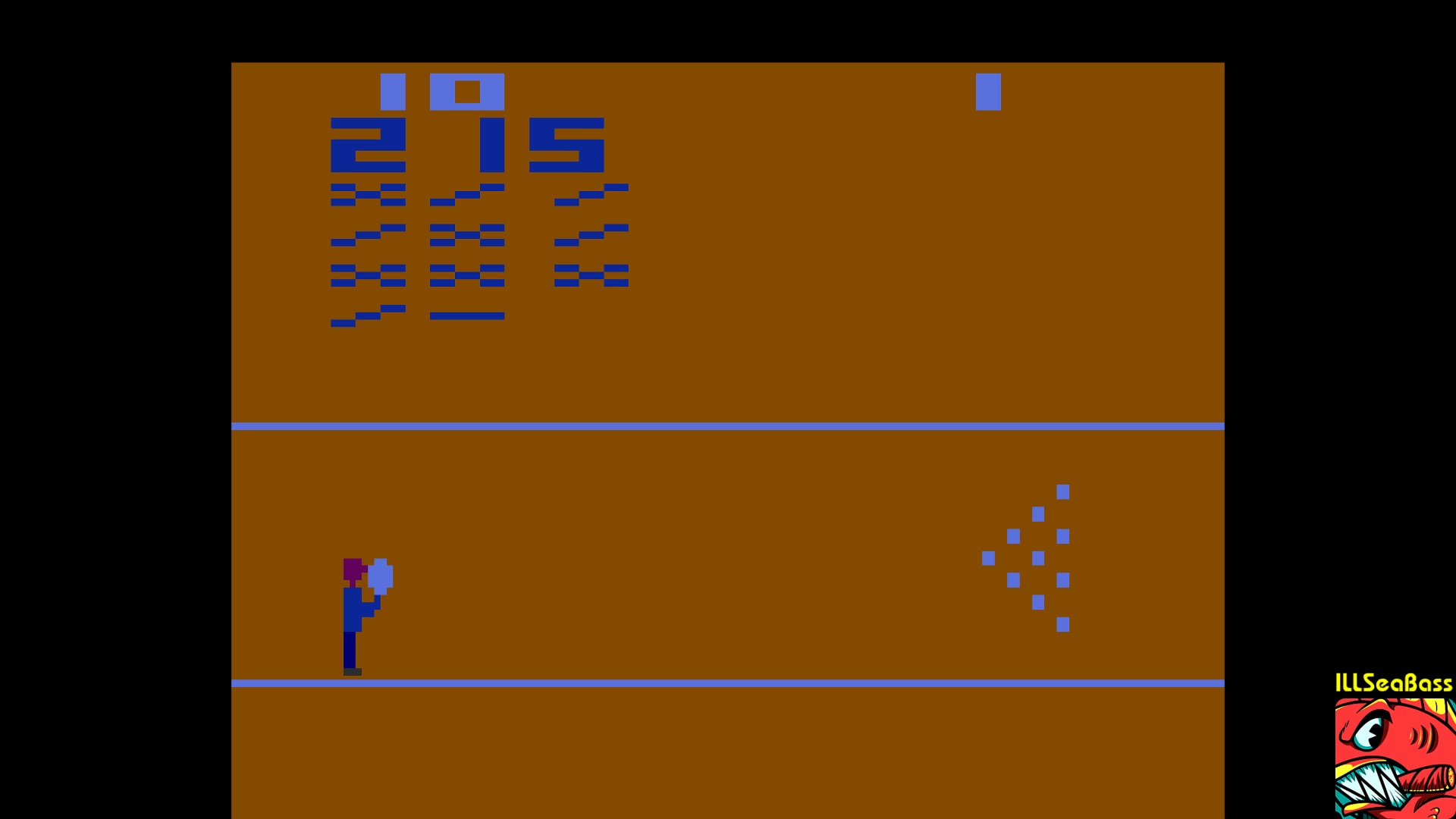 ILLSeaBass: Bowling (Atari 2600 Emulated Novice/B Mode) 215 points on 2018-01-08 00:13:00