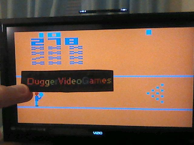DuggerVideoGames: Bowling (Atari 2600 Emulated Novice/B Mode) 278 points on 2018-01-08 06:17:36
