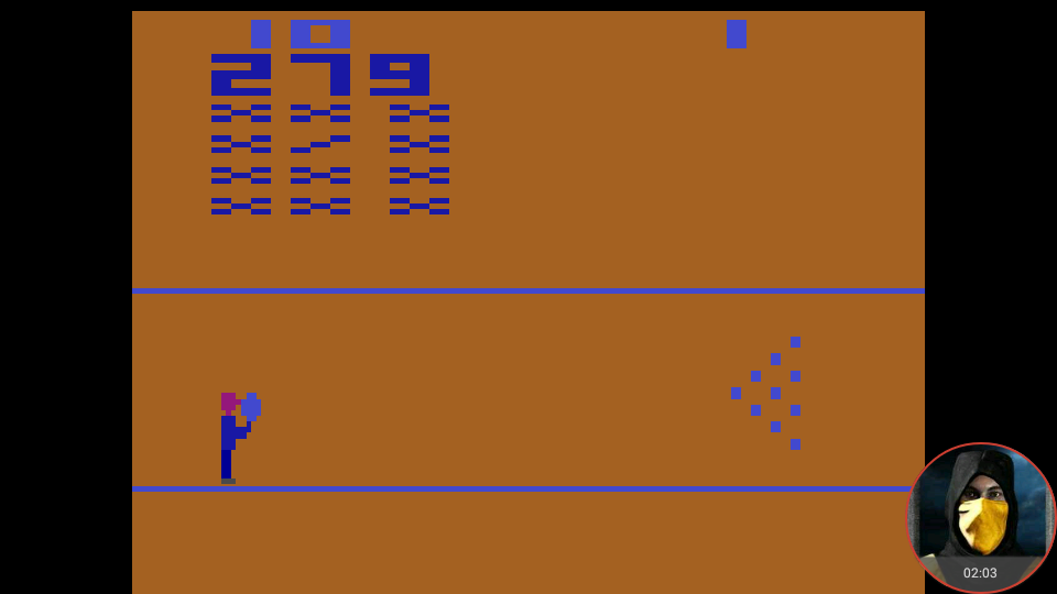 omargeddon: Bowling (Atari 2600 Emulated Novice/B Mode) 279 points on 2018-02-04 23:50:46