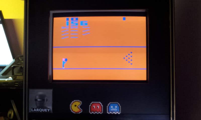 Larquey: Bowling (Atari 2600 Emulated Novice/B Mode) 156 points on 2018-08-16 12:31:58