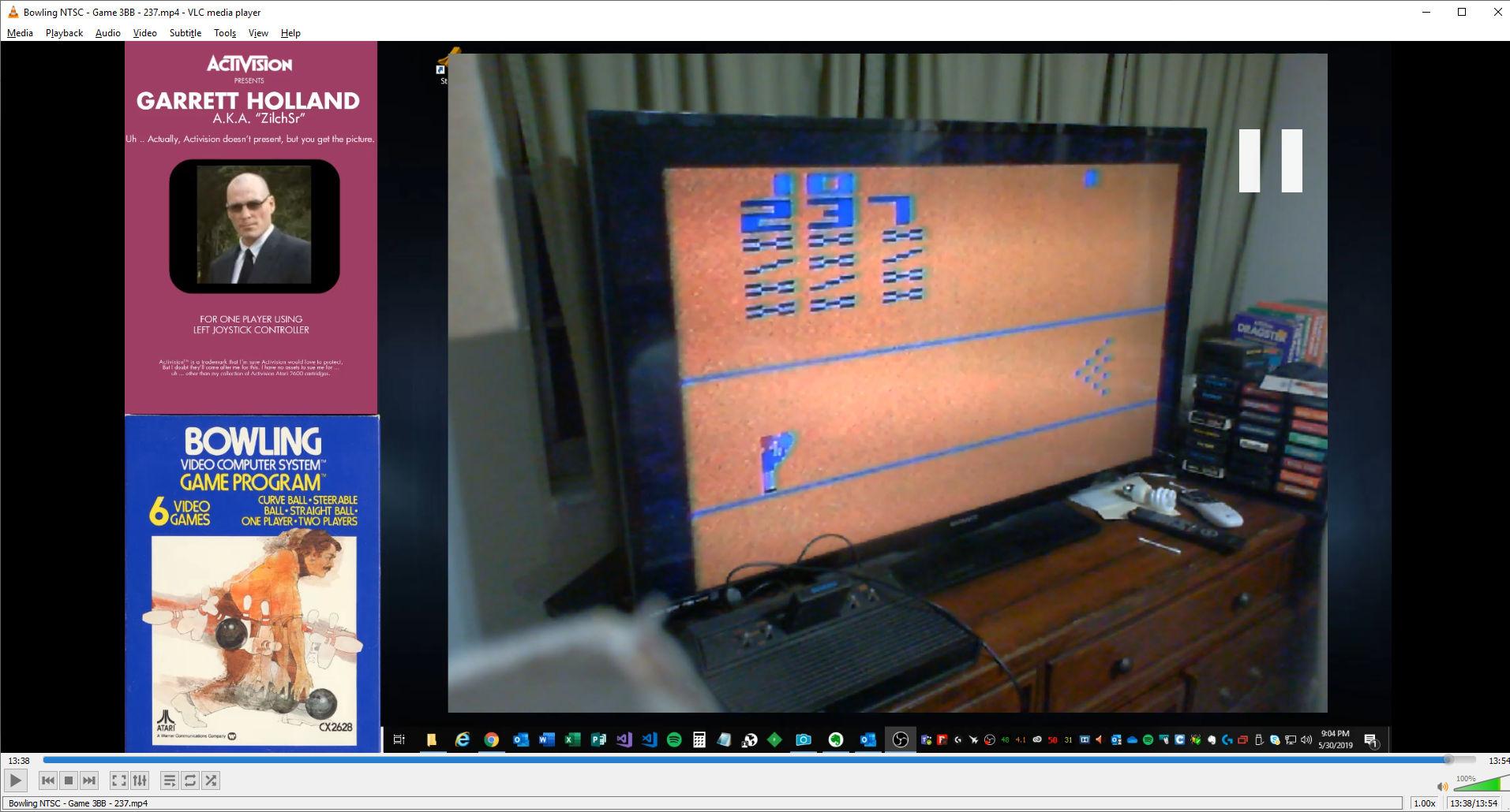 ZilchSr: Bowling: Game 3 (Atari 2600 Novice/B) 237 points on 2019-05-30 21:41:22