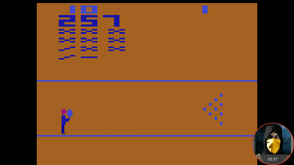 omargeddon: Bowling: Game 3 (Atari 2600 Emulated Novice/B Mode) 257 points on 2018-02-11 23:31:17