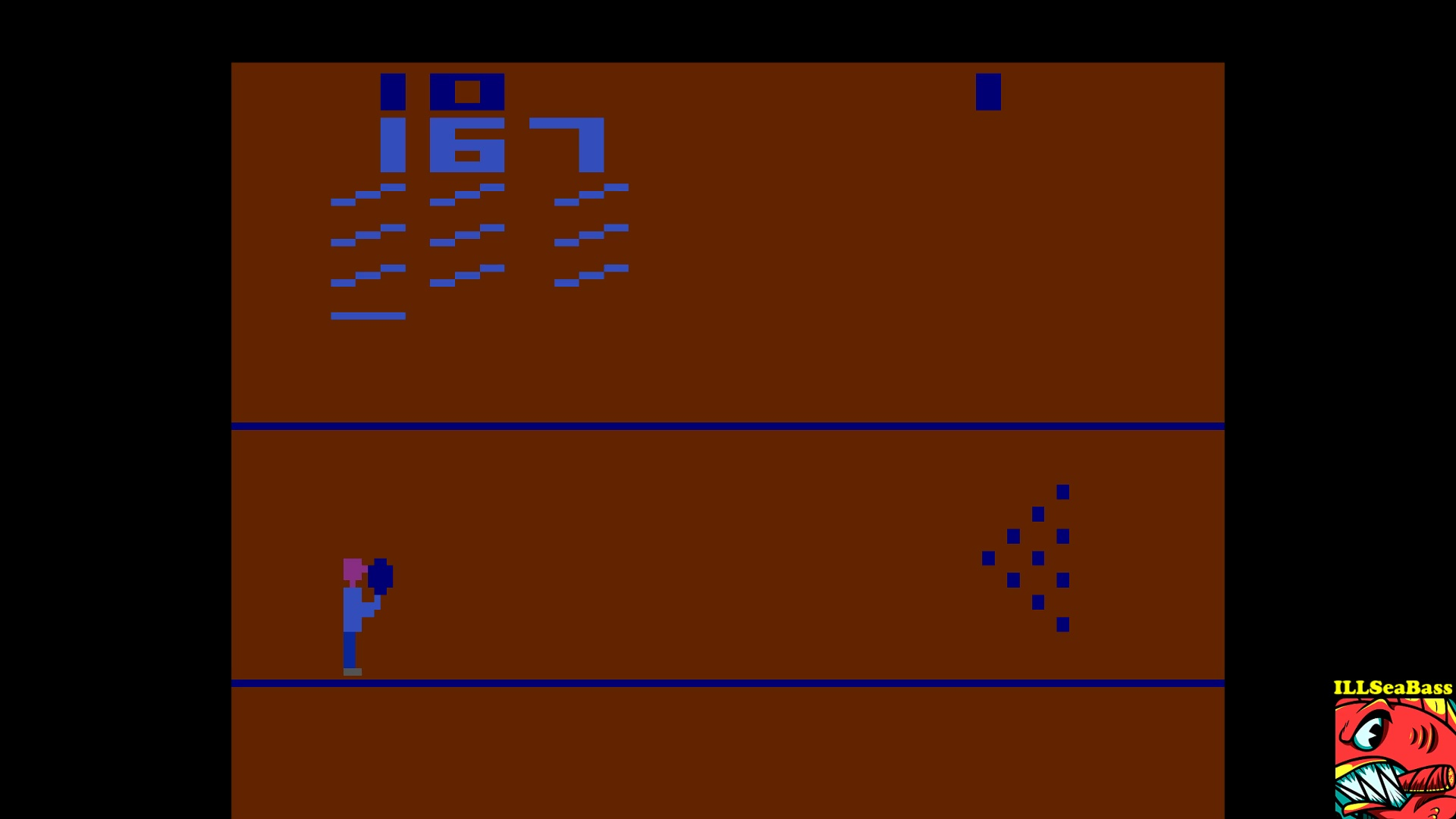 ILLSeaBass: Bowling: Game 5 (Atari 2600 Emulated Novice/B Mode) 167 points on 2017-10-26 20:22:21