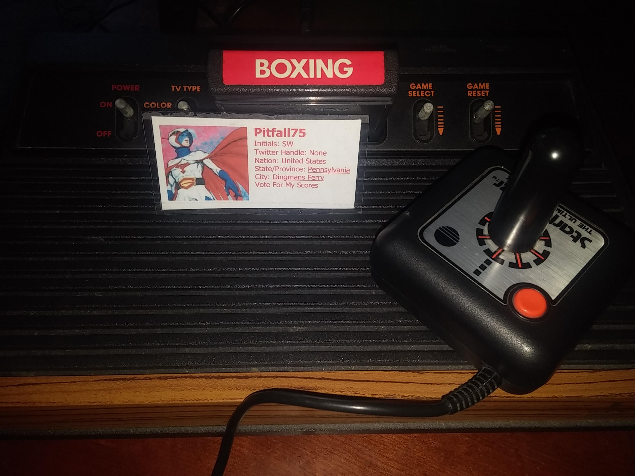 Boxing: Game 1AA [Point Difference at Time Complete] 77 points